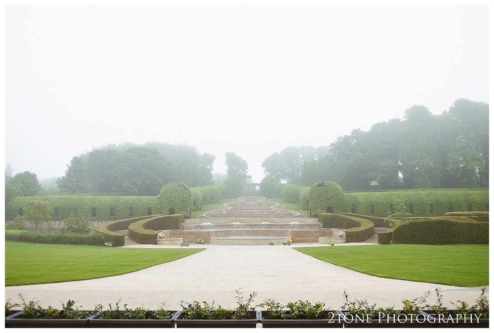 Wedding photography at the Alnwick Garden by www.2tonephotograph