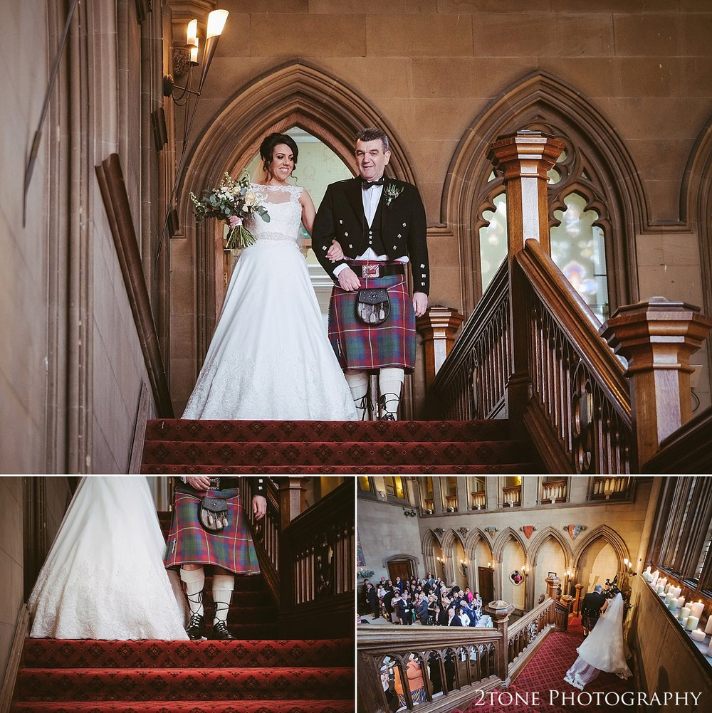 Matfen Hall Great Hall wedding