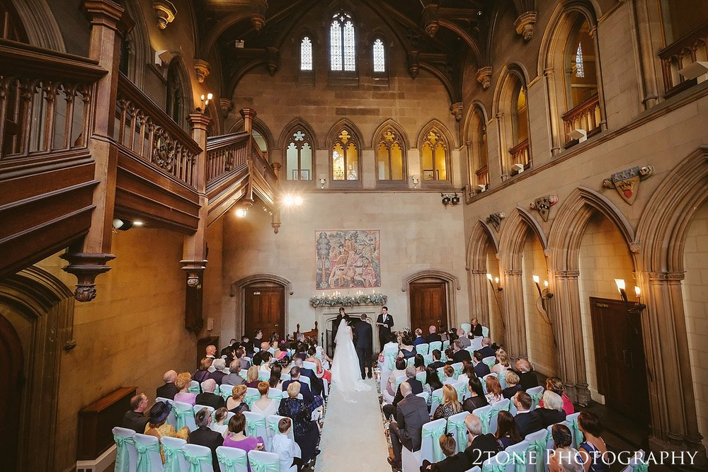 Matfen Hall wedding