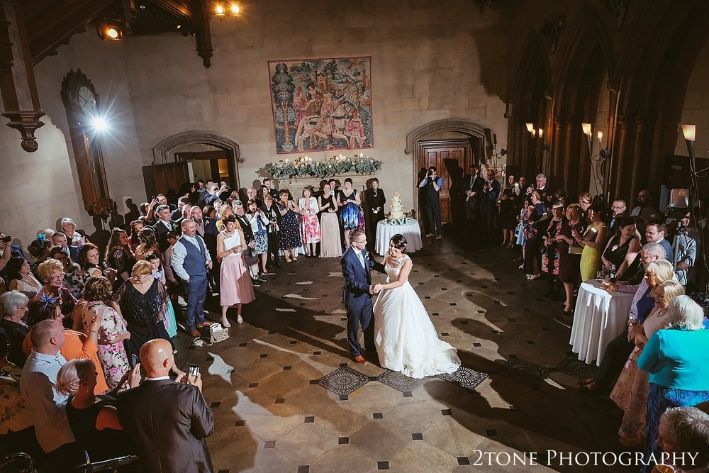 Matfen Hall first dance