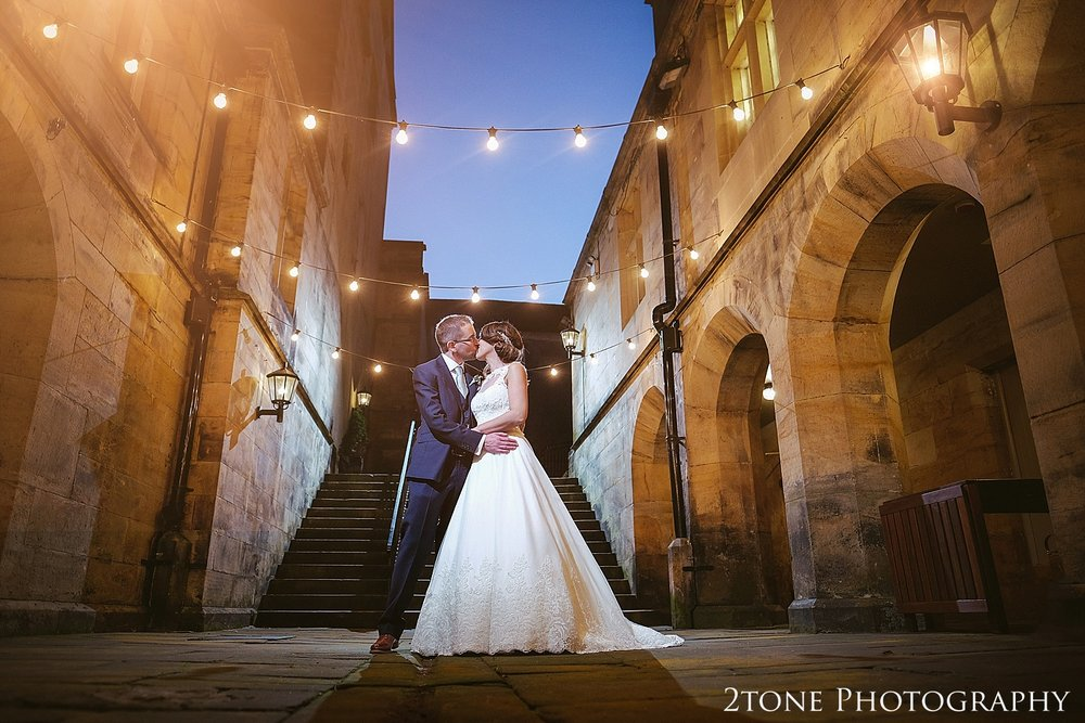 Matfen Hall Courtyard Wedding