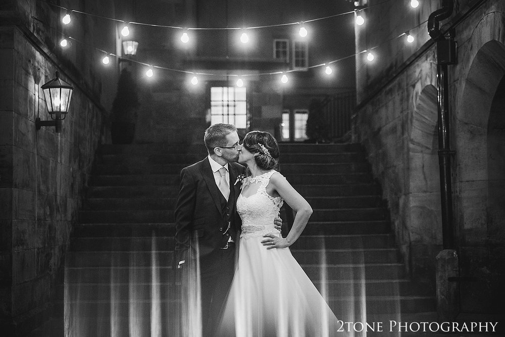 Matfen Hall wedding photo