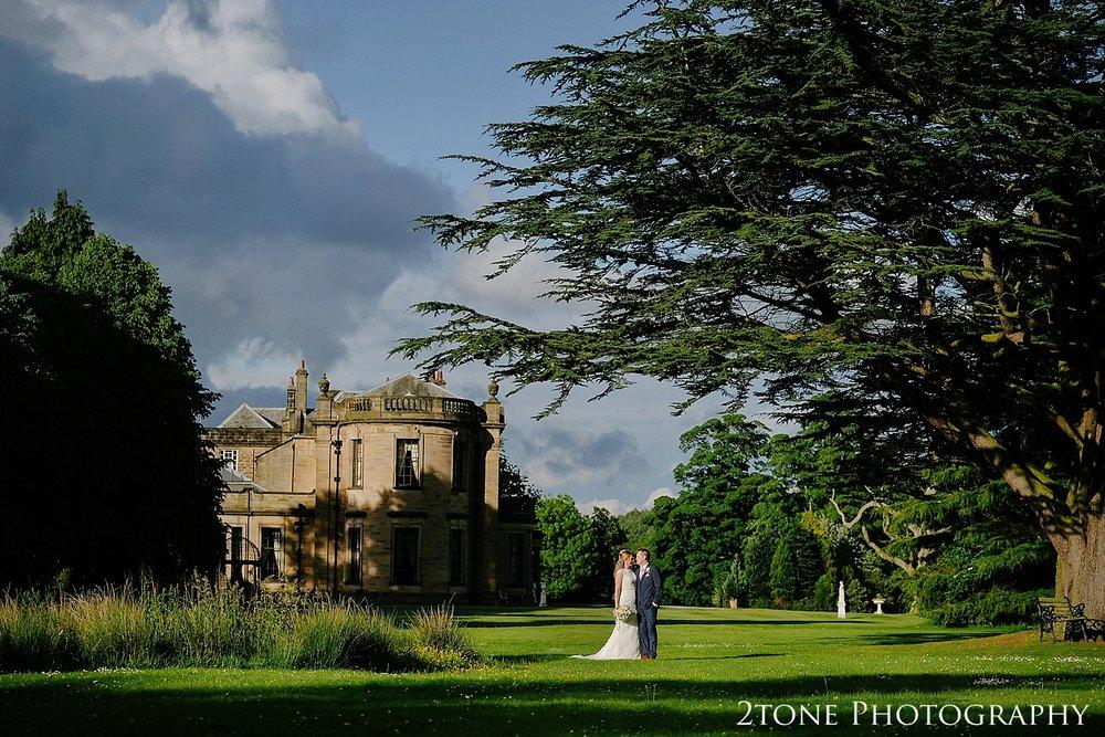 Beamish Hall wedding photos