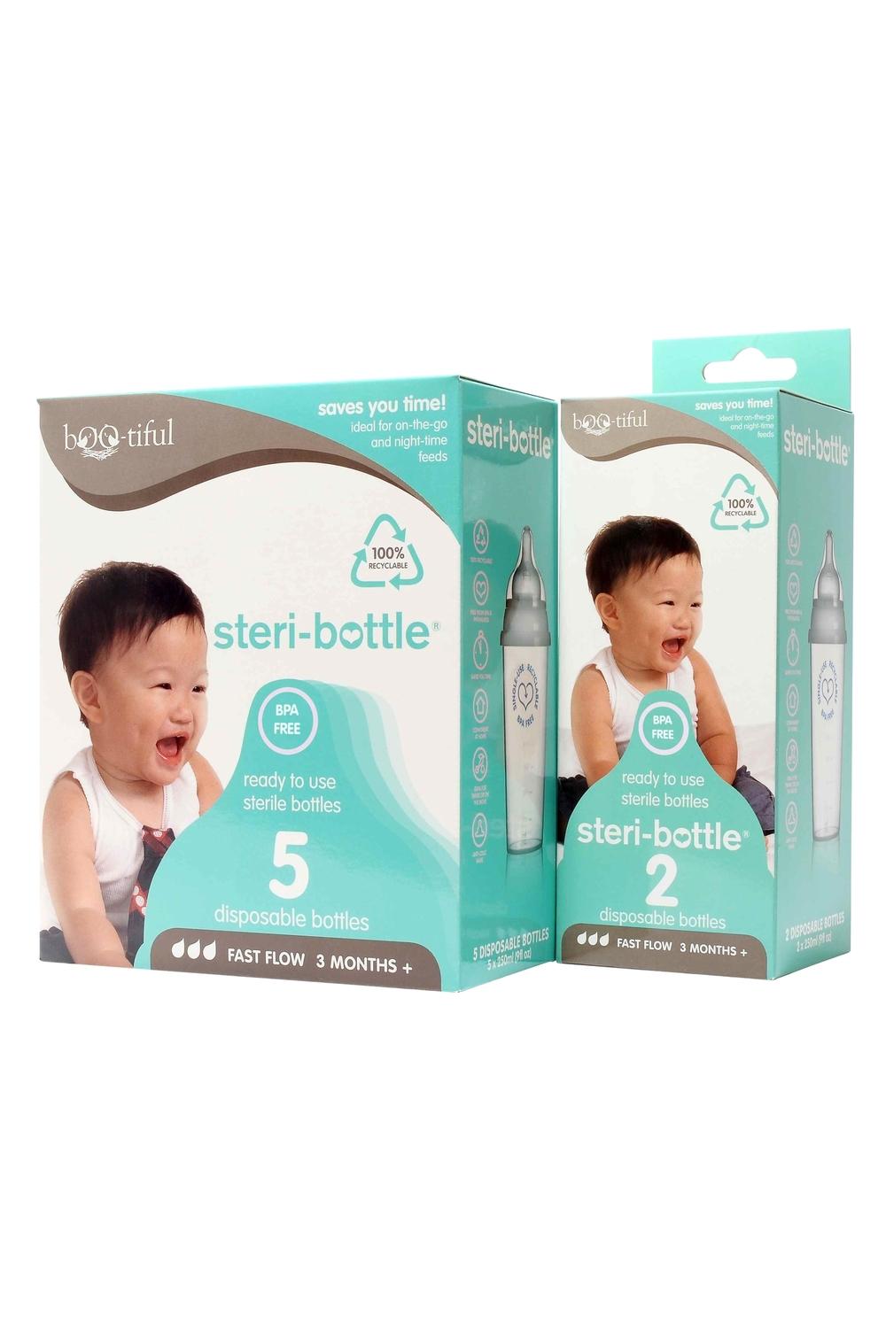 Steri-bottle® 2S  $6.50/pk Steri-bottle® 5S  $12.90/pk