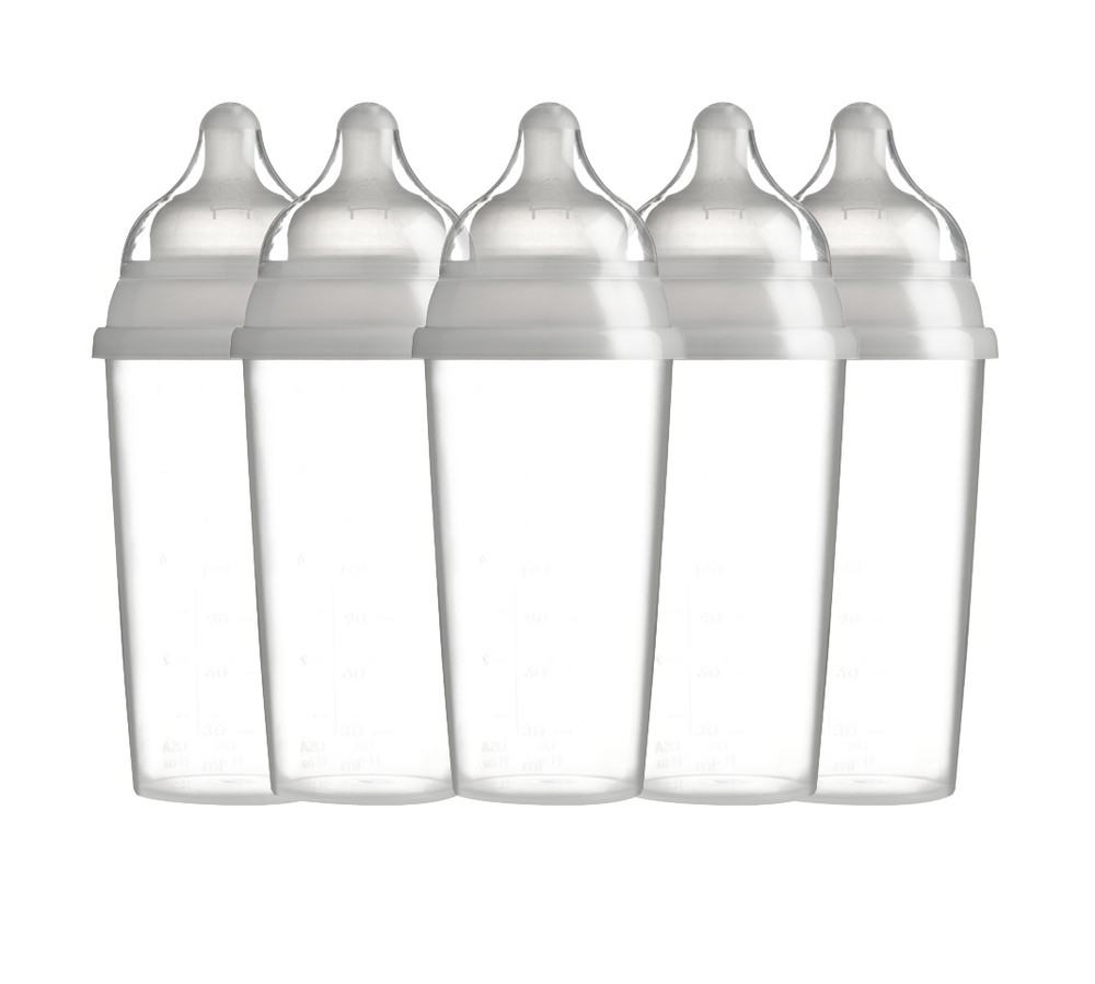Single Use Milk Bottle_Disposable_Ready sterile