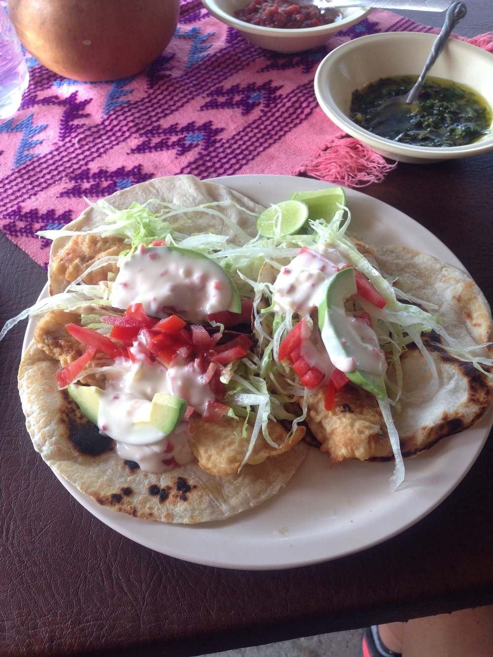 Best fish tacos on planet