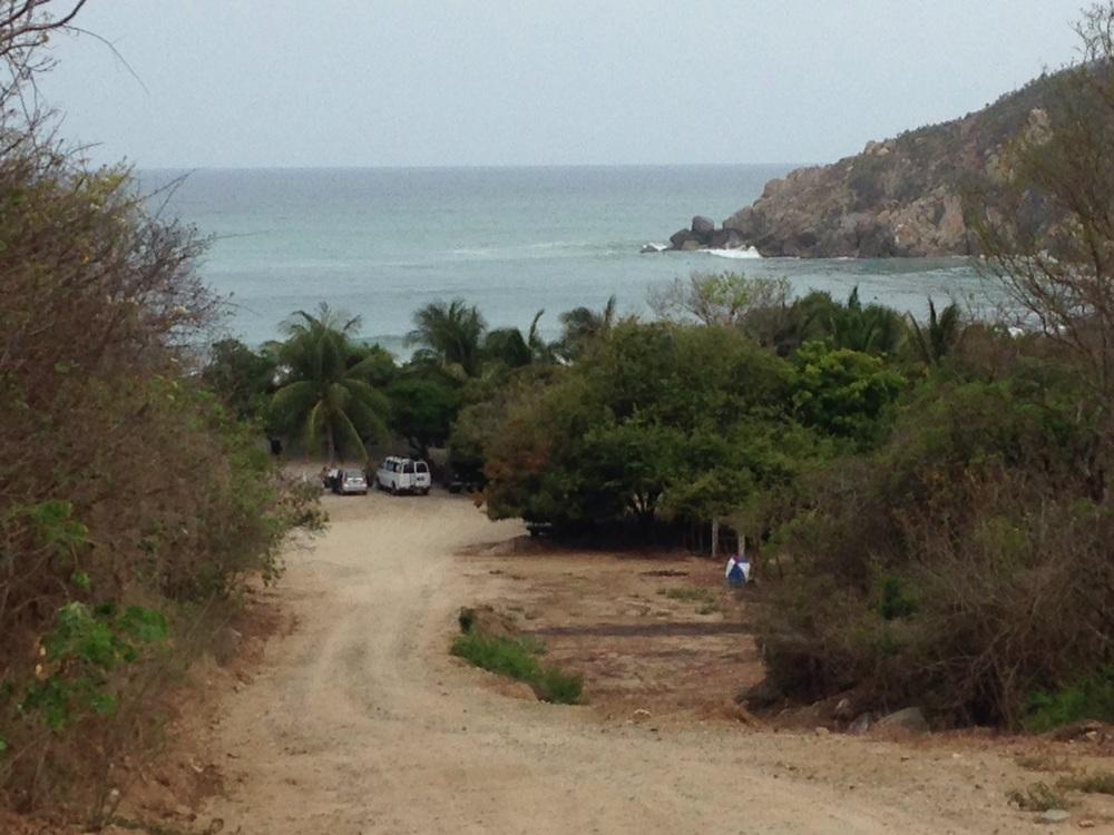 Leaving Barra de la Cruz