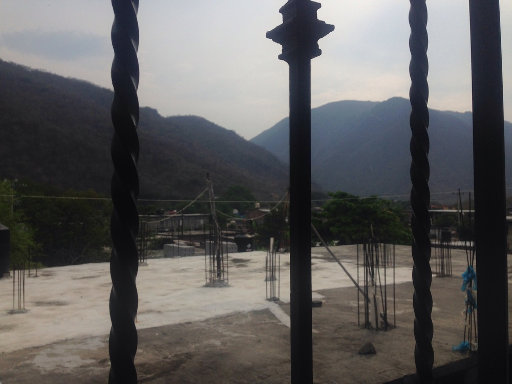 Vista from my room. Amazing mountain range