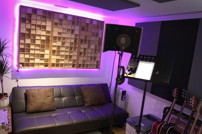 Vocal Booth Recording