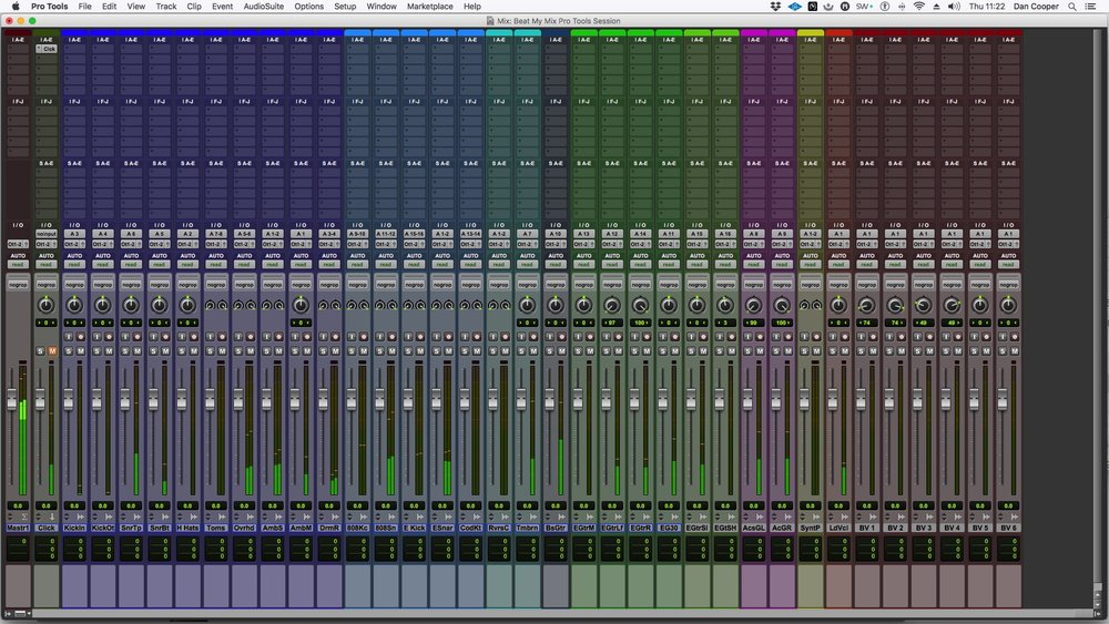 "Prepared Pro Tools Session Of ""I oo"""