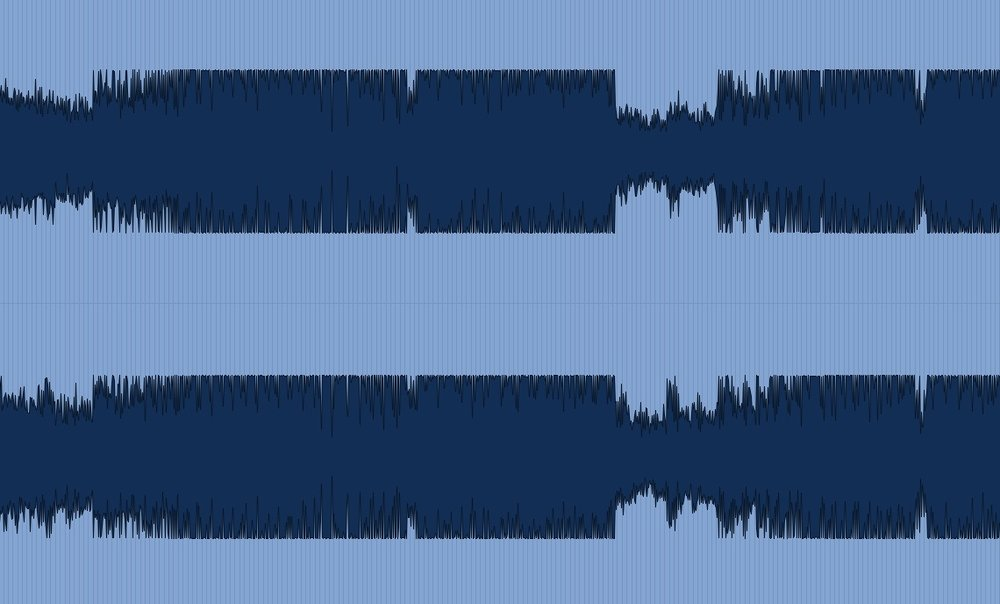 Please refrain from sending audio files that resemble this waveform as we won't even attempt to process it.