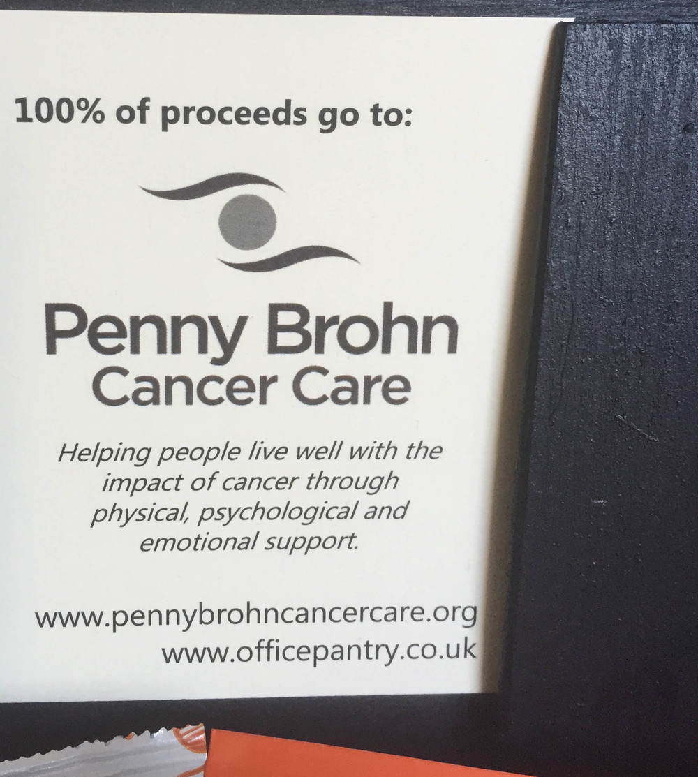 Pennh Brohn Office Charity Food Honesty Box