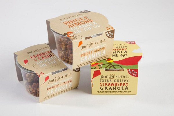 granola individual pots for the office