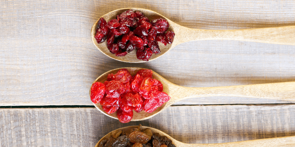 Clearly Scrumptious Dried Fruits