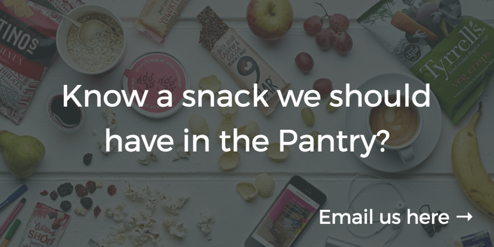 Adding a snack to Office Pantry