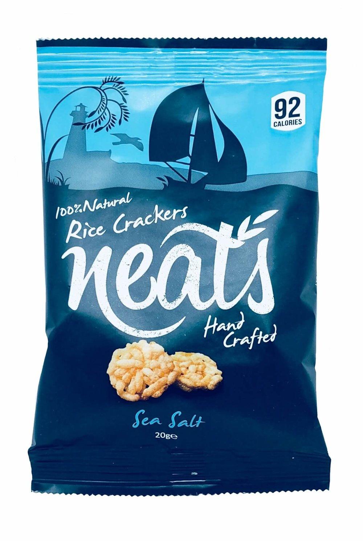 Office Pantry - Neats Sea Salt Rice Crackers