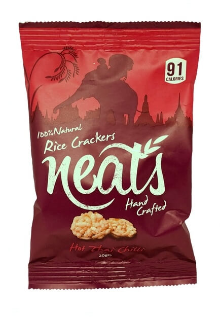 Office Pantry - Neats Hot Thai Chilli Rice Crackers