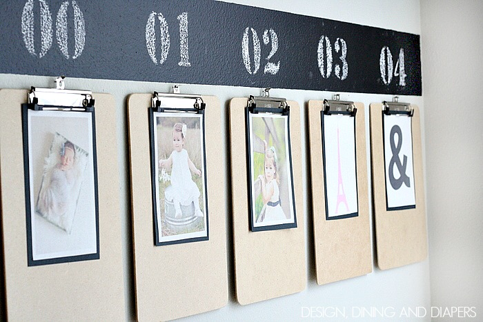 Fun-way-to-display-year-by-year-kids-photos-via-designdininganddiapers.com_.jpg