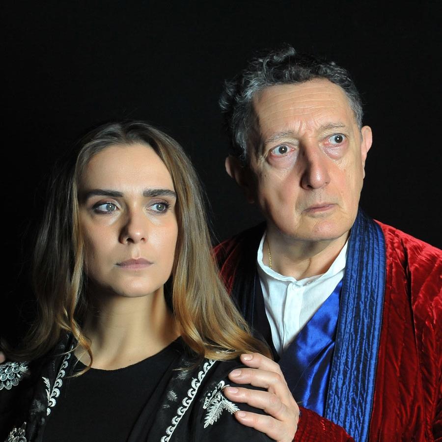"""Lucrezia Guidone in """"Antigone"""""""