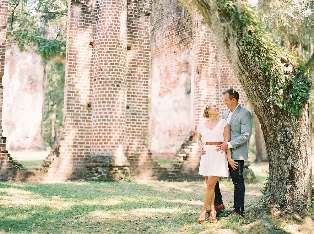 Old Sheldon Church Ruins Engagement_0008.jpg