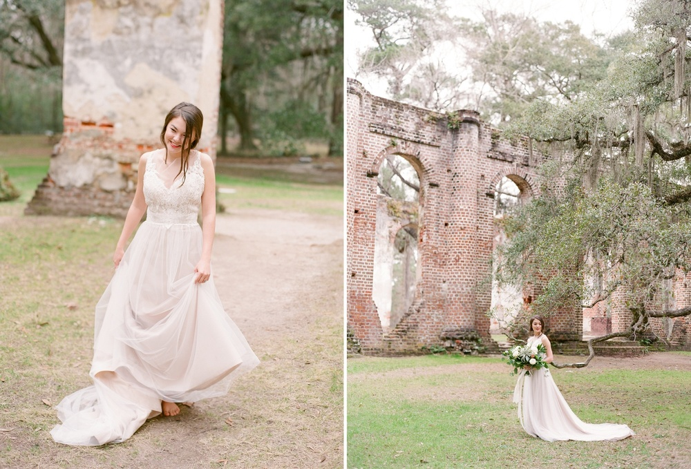 Old Sheldon Church Ruins Bridal Session_0017.jpg