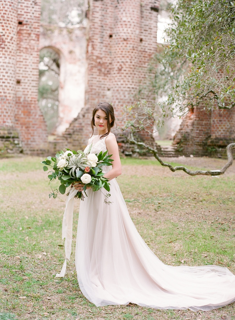 Old Sheldon Church Ruins Bridal Session_0016.jpg