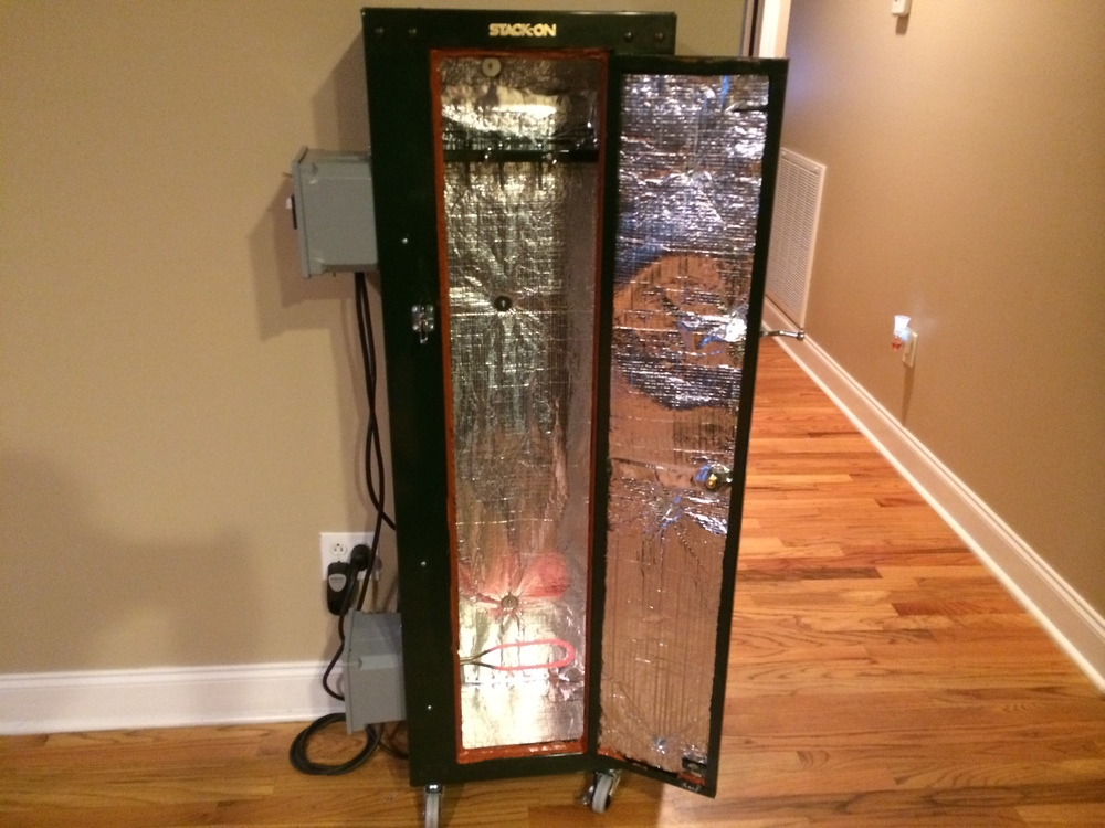 Harbor Freight Electric Smoker : How to make a cerakote station in your garage part — art
