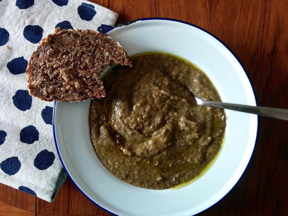 Mushroom Soup finished