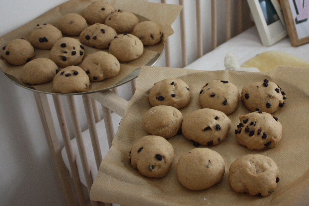 Who knew a cot could be so useful in proving bread!