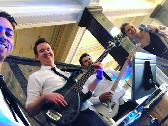 Good vibes flowing out of the @affordable_wedding_expo today in Malvern. . . . . . . . . . #melbournewedding #melbourneweddings #melbourneweddingband #weddingbandmelbourne #weddingentertainment #melbourneentertainment #melbournecoverband #coverband #melbourneliveband #melbournelivemusic #livemusicmelbourne #liveband #melbournepartyband #partyband #melbourneevents #melbourneevent #melbournefunctions #functionband #corporateband #corporateevents #corporateparty #melbourneband #melbournemusic #acousticduo #weddingexpo #bridalexpo #melbournebride #melbournebrides