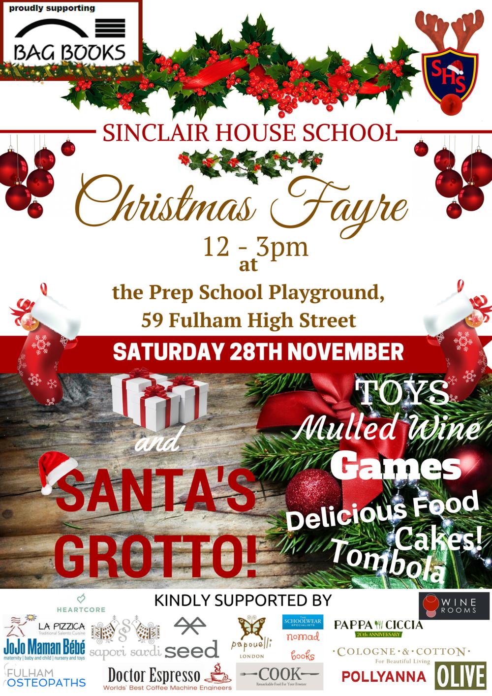 sinclair house school annual christmas fair - Christmas Pollyanna