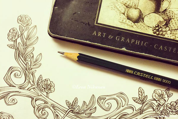 Faber-Castell 9000 pencils are great quality.