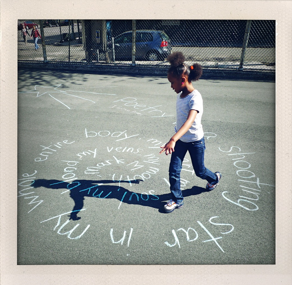 Permission to put your poem on the playground.