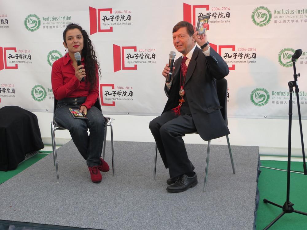 Im Gespräch mit Prof. Richard Trappl, Direktor des Konfuzius Institut Wien