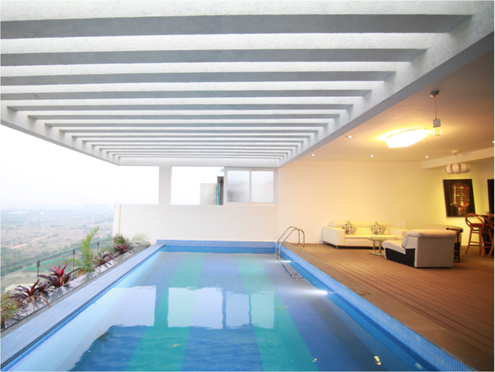 Swimming Pool Sky Villa
