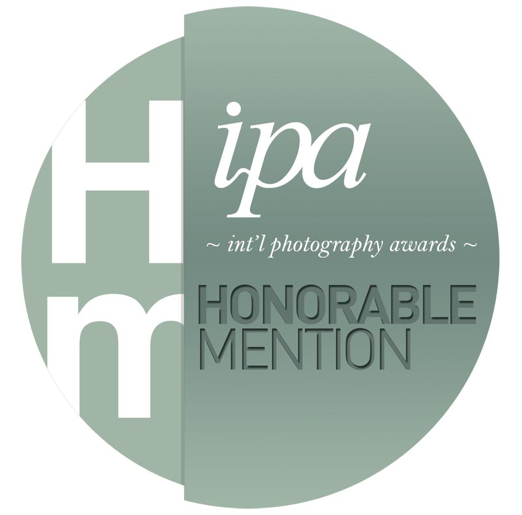 Garter Wedding photography has been awarded an Honorable mention in the International Photography Awards 2016 'IPA' Awards 2016.