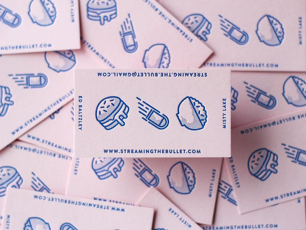 The Bullet Streetfood - Oh man. Can't tell you how excited I am to share with you these SWEET ASS business cards. It's all in the details folks. 💯 Thanks to M.C.Pressure and his team of creatives for conjuring these up for us!