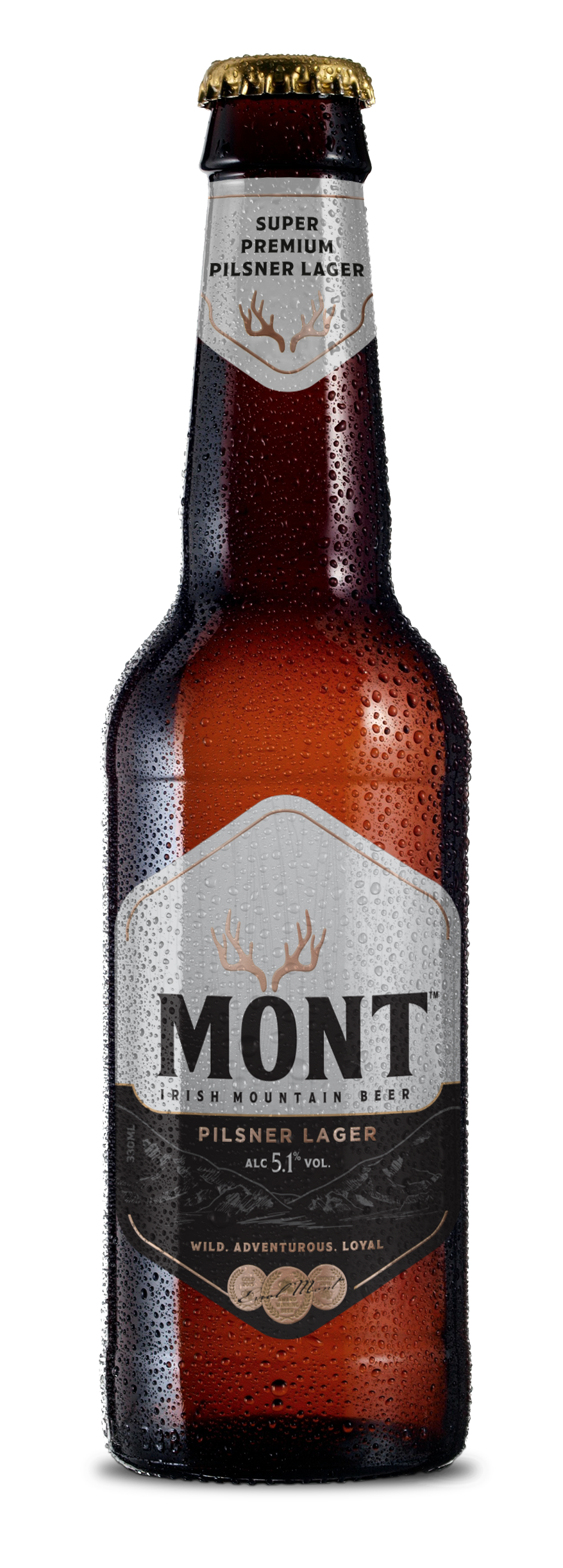MONT Super-Premium Irish Lager 330ml bottle (PNG).png