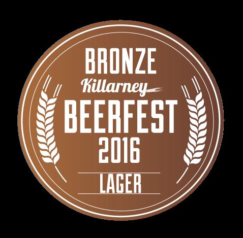 BRONZE - Irish National Beer Awards 2016