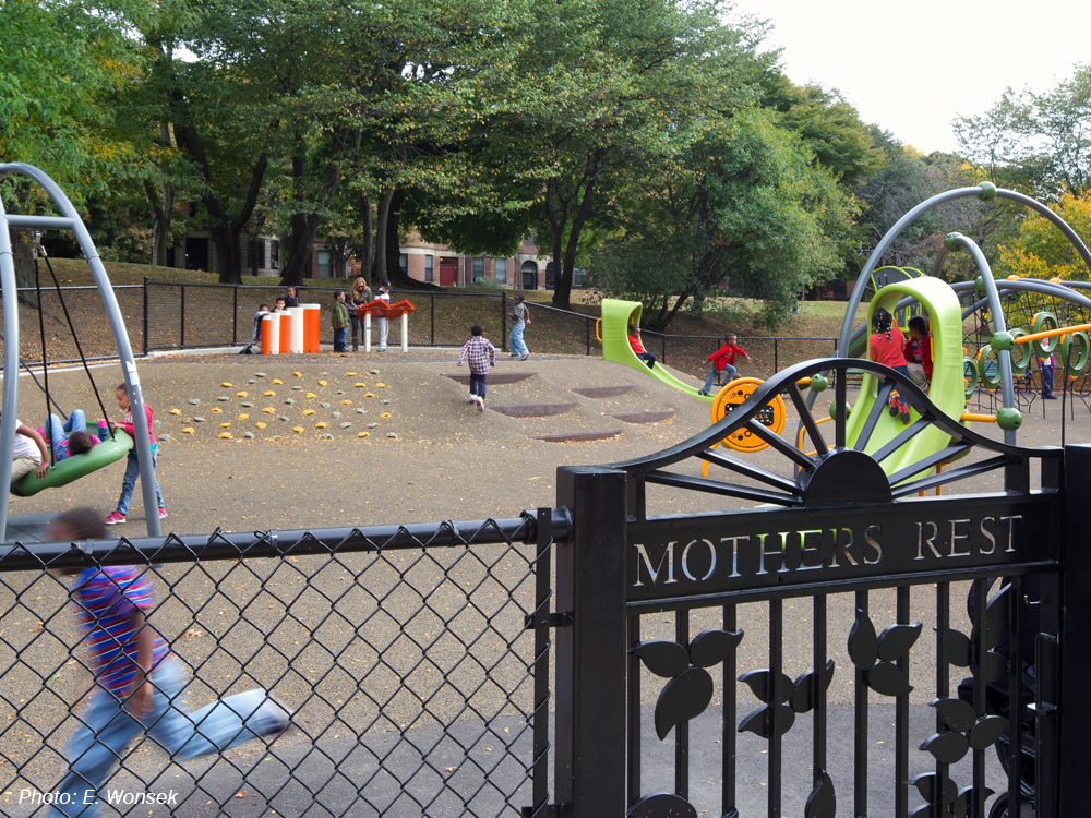 Mothers Rest Playground - Back Bay Fens, Boston