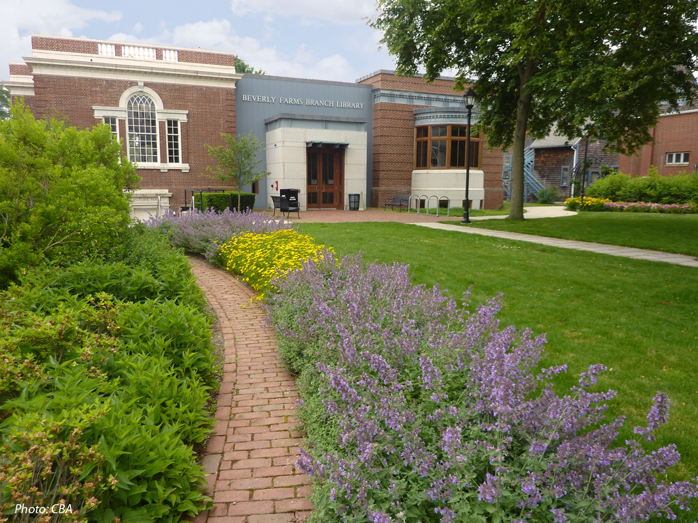 Beverly farms library cba landscape architects llc for Cba landscape architects