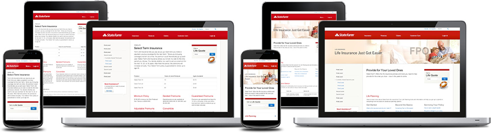 State Farm Web Pages