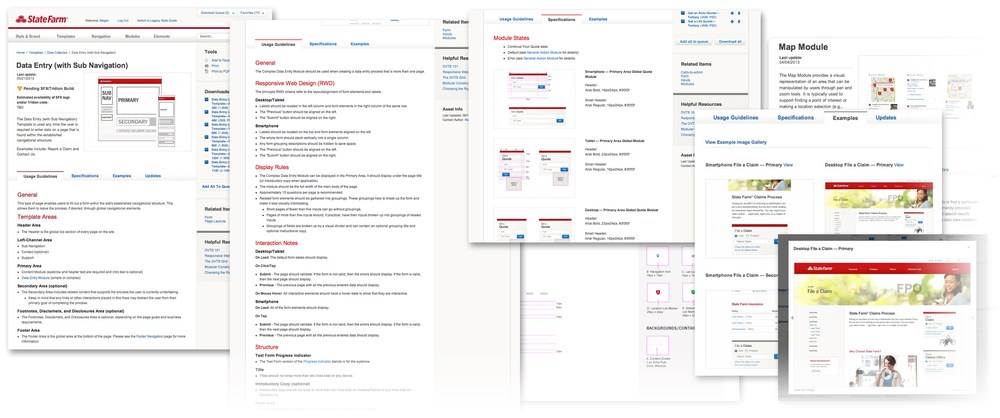 State Farm Digital Style Guide