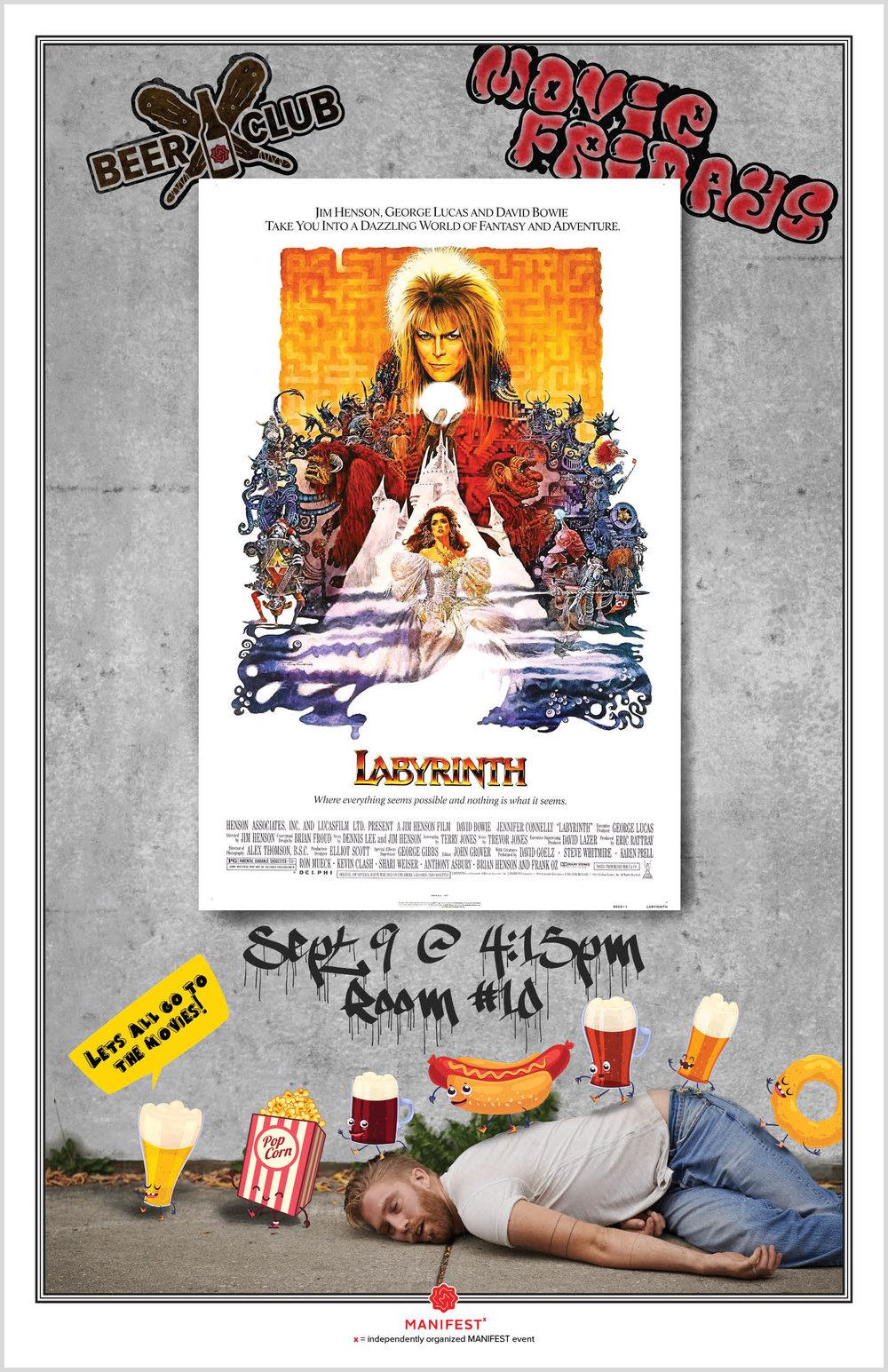 Movie Night: Labyrinth     Poster