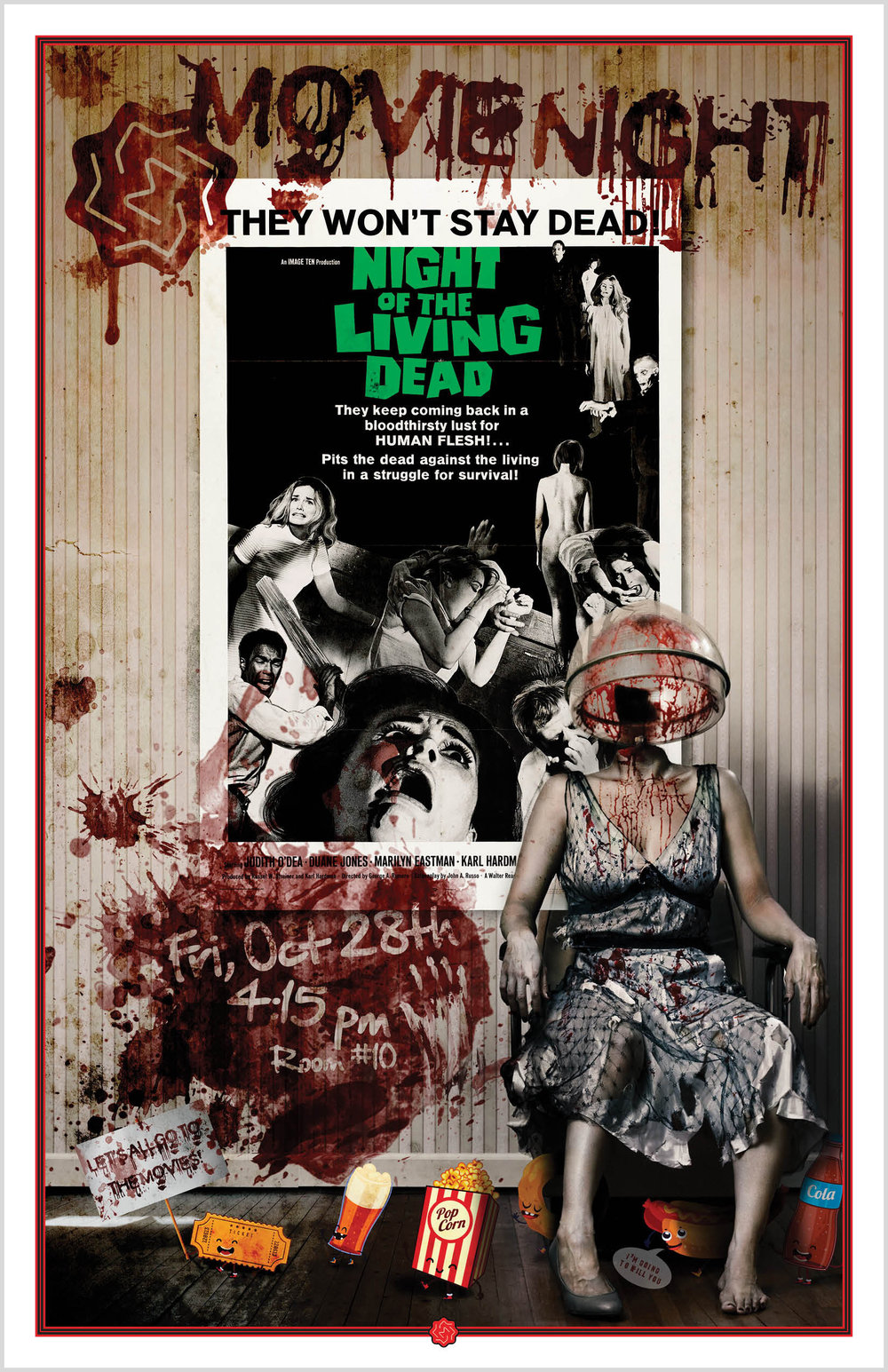 Movie Night: Night of the Living Dead     Poster