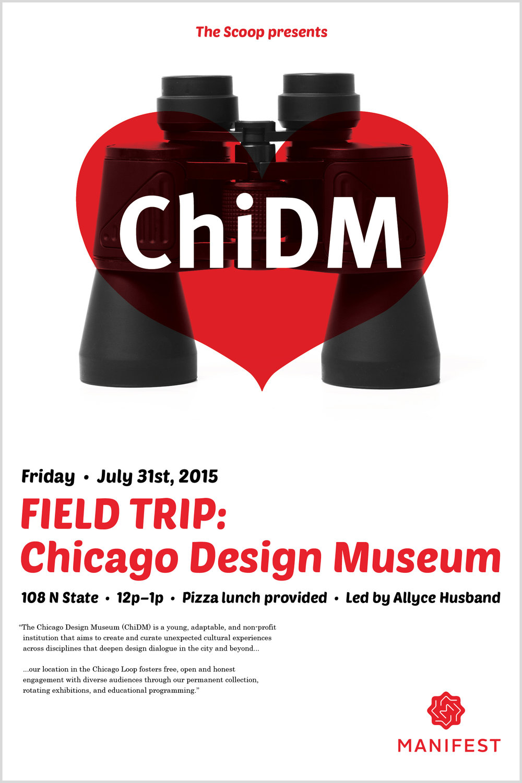 Chicago Design Museum     Poster