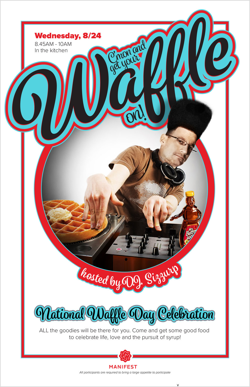 National Waffle Day        Poste