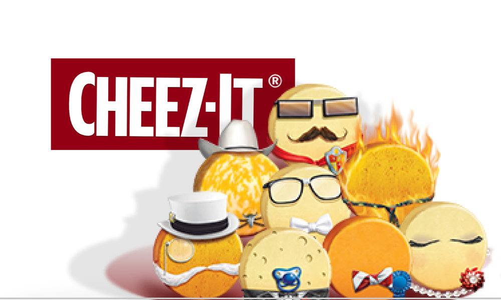 Cheez-It Vote for the Top Cheese
