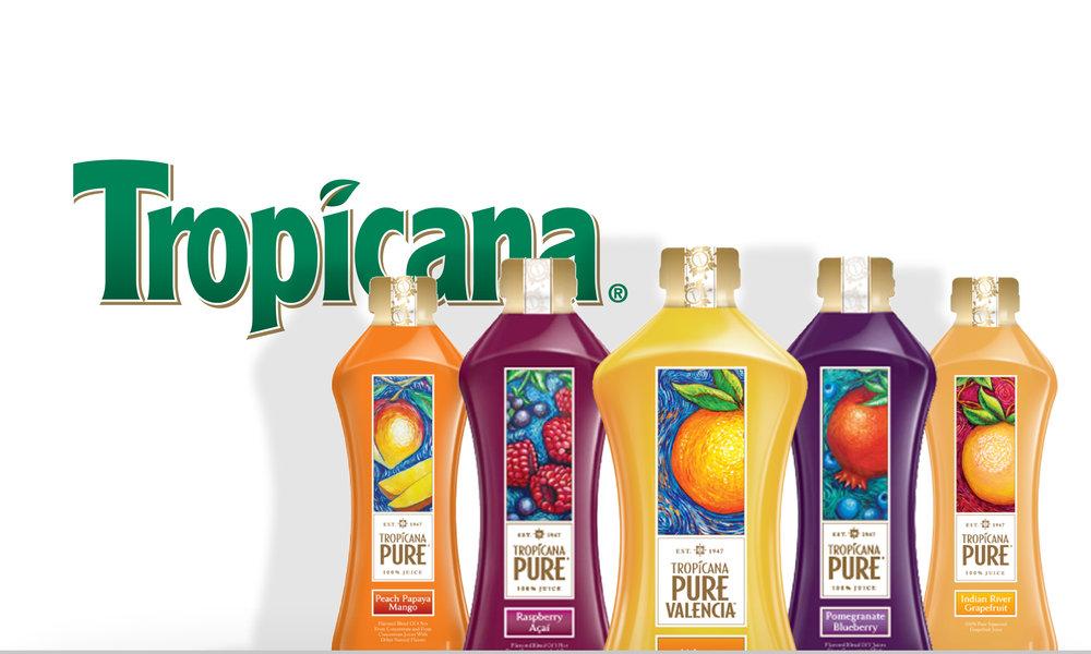 Tropicana 3% Campaign Ideas