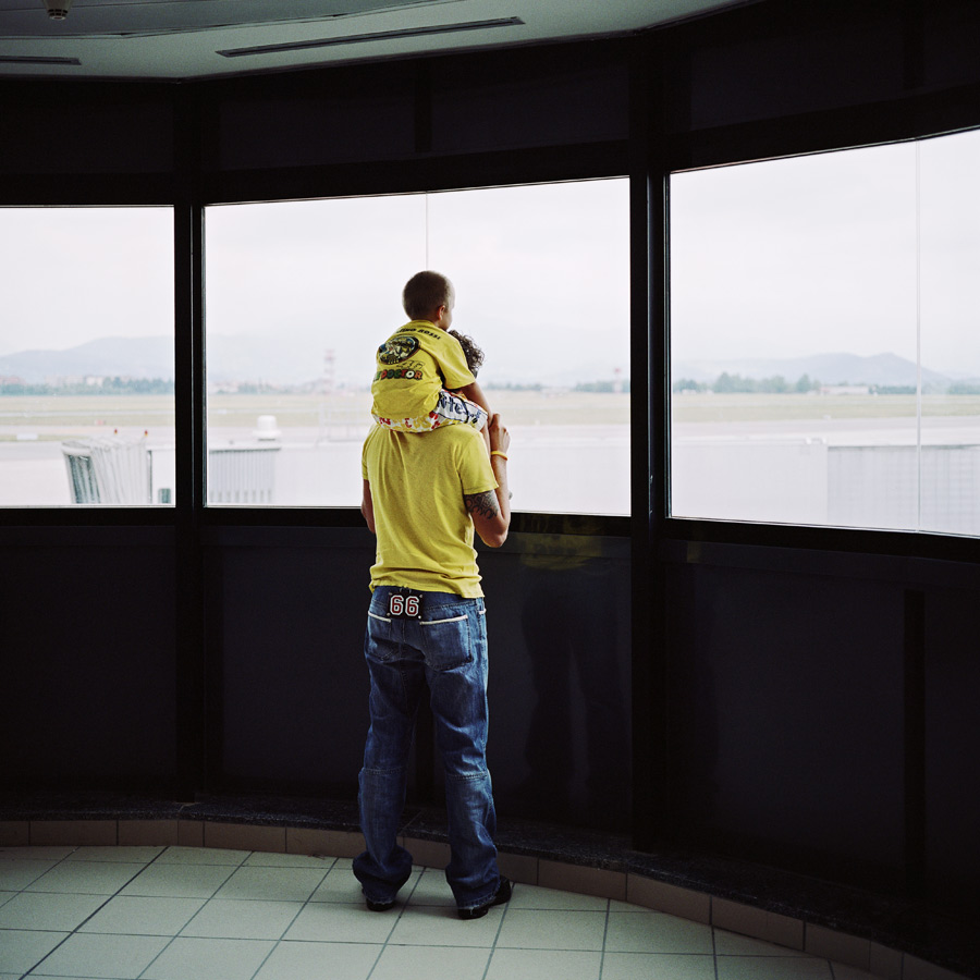ESCAPE - Long term project, photographed at airports all around Europe.
